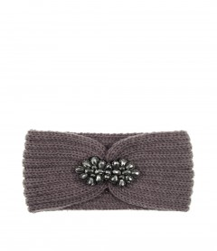 Damen Stirnband - Glitzer, lila