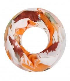 Damen Loop Schal - Farbverlauf, orange