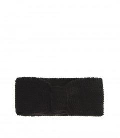 Damen Stirnband - Teddy, schwarz
