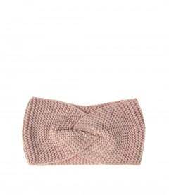 Damen Stirnband - Knoten, rosa