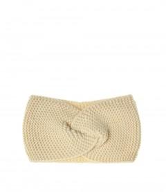Damen Stirnband - Knoten, beige